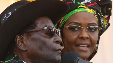 Zimbabwe's President Robert Mugabe in South Africa as wife faces assault charge