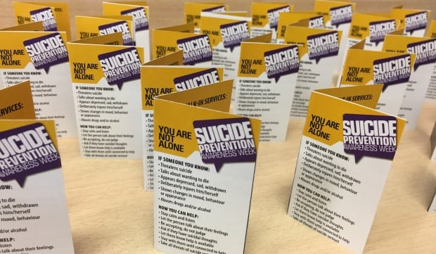 Suicide Prevent Week cards