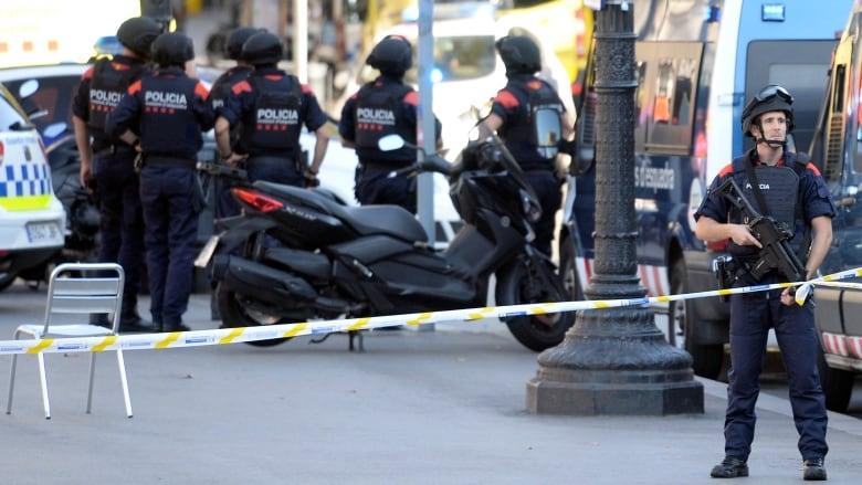 barcelona crash police