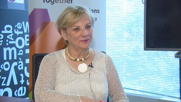 Sylvia Martin-Laforge says an increase in English speakers, even a small one, may mean more funding for Anglo services.