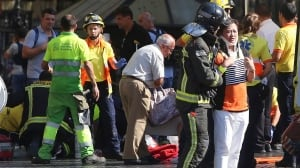 12 dead, 80 injured after van plows through Barcelona crowd