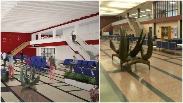 Gander airport renovations