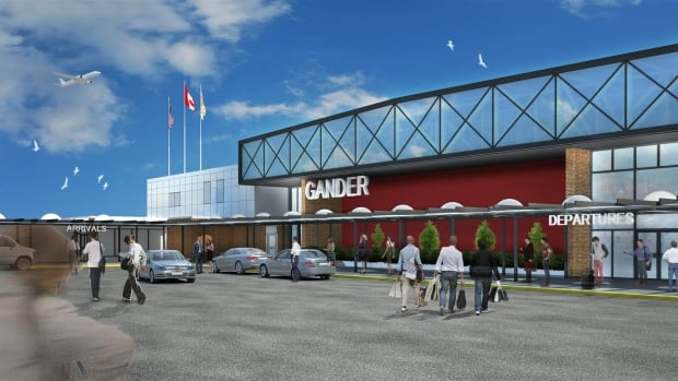 The proposed redesign features an all-new building front.
