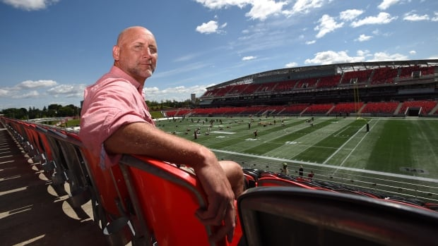 Former CFL player Ken Evraire will donate his brain to science for concussion research.