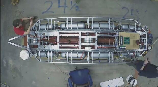 Paradigm Hyperloop guts