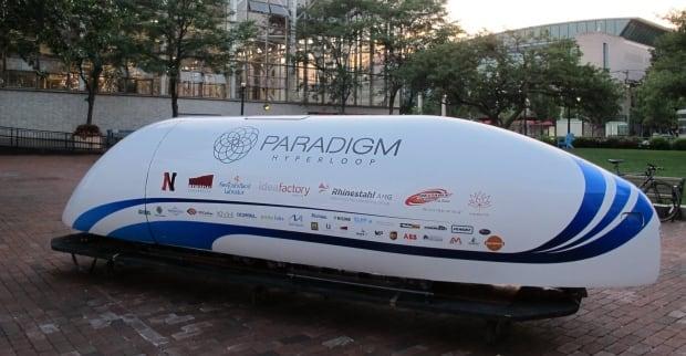 Paradigm Hyperloop pod