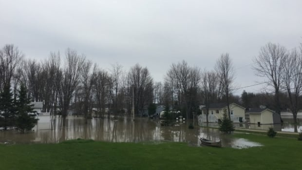 flooding pontiac