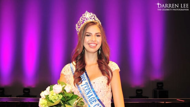 Emma Morrison, a member of Chapleau Cree First Nation, won Miss Teenage Canada earlier this summer.