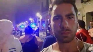 Barcelona van attack: City resident describes aftermath