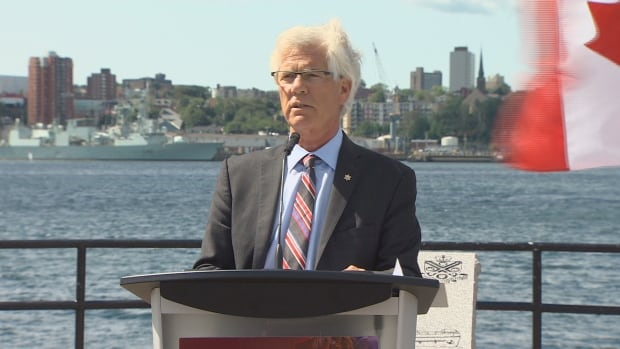 Jim Carr, acting federal procurement minister, made the announcement of the Thales contract Thursday morning.