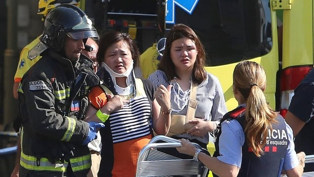 Thirteen people died and 100 were injured when a van plowed into pedestrians in the Las Ramblas district in Barcelona. ISIS has claimed responsibility for the attack. Another victim died after a second vehicle attack in Cambrils.
