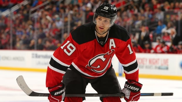 New Jersey's Travis Zajac had surgery on Thursday to repair his pectoral muscle and will be sidelined for four to six months.