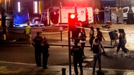 barcelona crash van attack