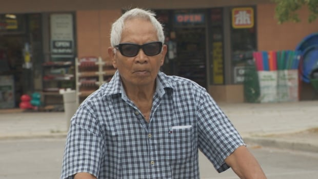 Pio Marasigan, 83, stopped at his local CIBC branch for a few moments. When he returned to where he left his bike, it was gone. A thief had made off with his sole means of transportation.