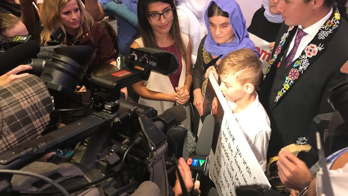 Kudos and concerns about Yazidi refugee boy's reunion with his mother
