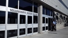 Yellowknife courthouse summer