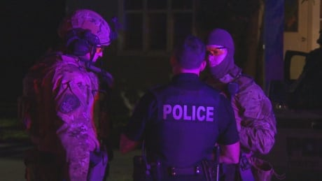 Police standoff Fredericton
