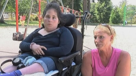 Vandalism to wheelchair-accessible swing in Parksville, B.C., leads to removal