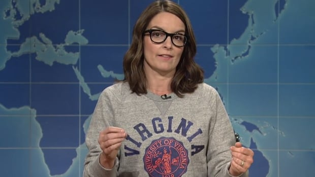 Tina Fey weighed in on the events in Charlottesville during Saturday Night Live's special summer edition of Weekend Update on Thursday.