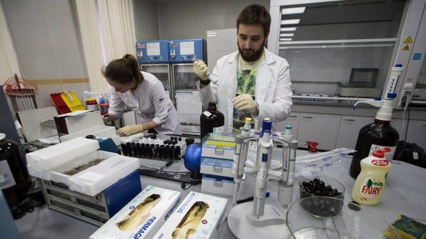 File photo of RUSADA drug-testing laboratory in Moscow. Russia is touting their reformed testing, eager to distance themselves from past transgressions.