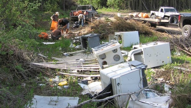 Alberta Fish and Wildlife says illegal dumping is an ongoing issue on Crown lands. More than 130 charges and 170 written warnings have been issued so far this summer.