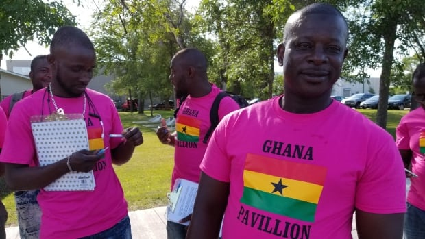 Sulemana Abdulai (right) says he will not stop advocating for LGBT people in Ghana despite threats and insults.