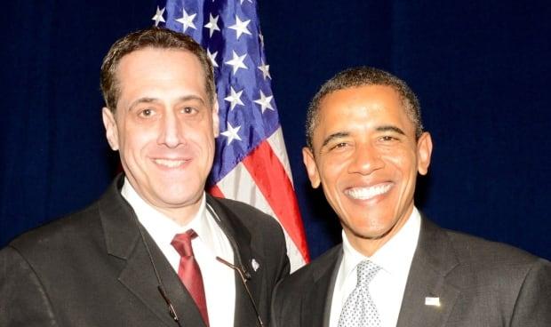 Stuart Milk and Barack Obama