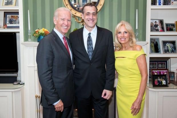 Joe and Jill Biden with Stuart Milk