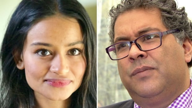 Calgary Mayor Naheed Nenshi says Calgary school trustee candidate Nimra Amjad is not alone as a public figure facing racist attacks: 'I could probably count the number of racist attacks that I have personally received in the first 5½ years of public life on one or two hands. Now? Almost every day.'