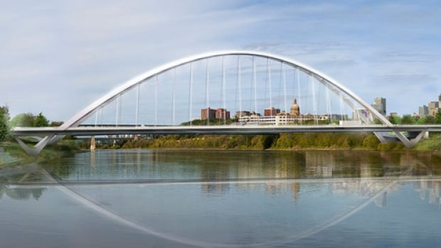 The new Walterdale Bridge will be open Monday morning, but some construction still needs to be finished.