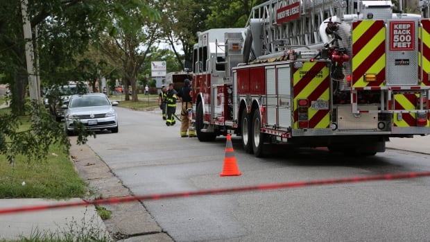 Windsor firefighters report a gas leak on California Avenue has been stopped.