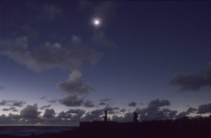 Easter Island Eclipse 2010