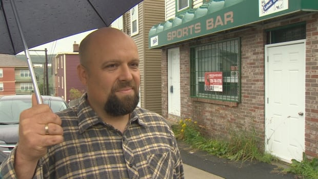 Eldin Husic had hoped to have the former Sports Bar on Boncloddy Street turned into a Balkan-style, liquor-free family restaurant by Christmas.