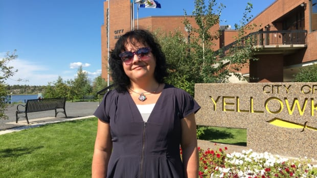 'It's really important that we take a stand on this because there is this level of hatred in the world which, frankly, in Yellowknife does not reflect who we are as a community,' says Sheila Bassi-Kellett.