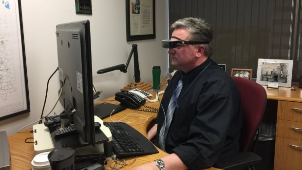 Dave Burdeniuk, 52, wants the Canadian product to be available for anyone experiencing vision loss.