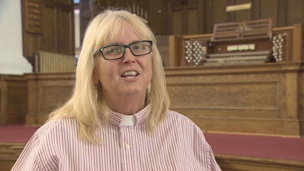 Rev. Valerie Kingsbury says the church is used by musicians, artists and other community groups.