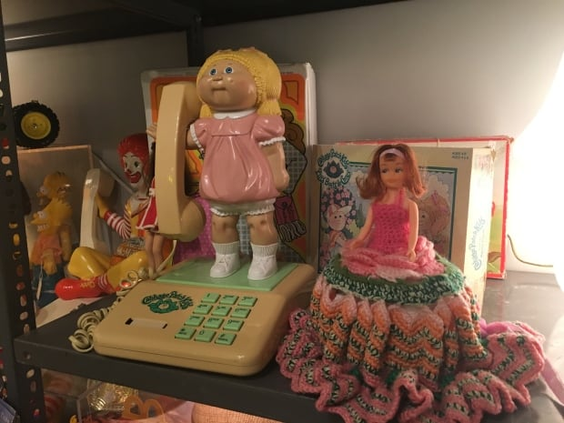 Cabbage Patch doll phone