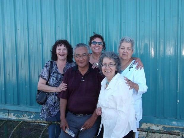 Tony Callihoo and family