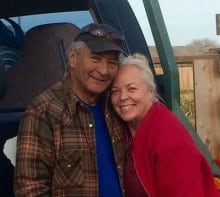 Tony Callihoo and his wife, Barbara Joy.