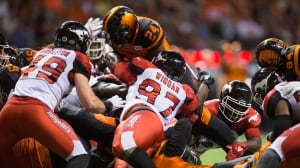 Lions fall short as Stamps claim 4th-straight victory