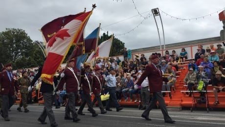 2017 Warriors Day Parade CNE
