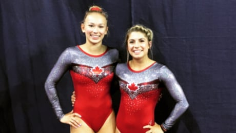 Milette, Methot score synchro bronze at trampoline World Cup thumbnail