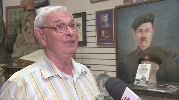 Retired major Keith Inches, who is also the curator of the Saskatchewan Military Museum, says it's important to understand history to avoid repeating the mistakes of the past.