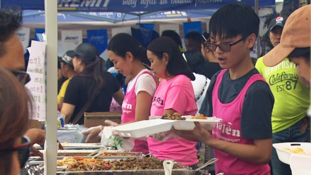 Over a quarter of a million people are expected in Toronto's Little Manila today to sample Filipino cuisine and culture.