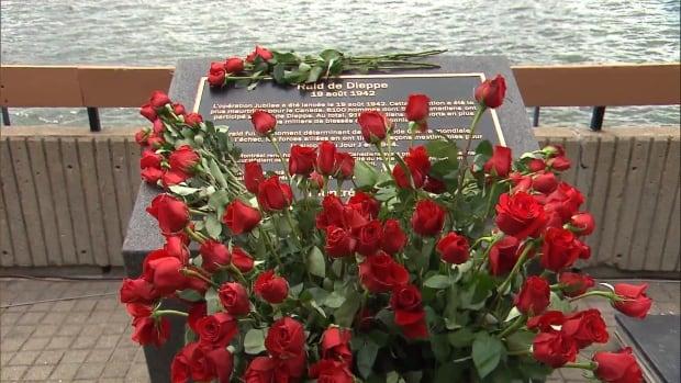 dieppe commemorative plaque