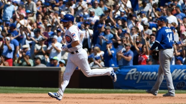 Ian Happ hit his 18th home run and added an RBI single as the Chicago Cubs defeated the Toronto Blue Jays on Saturday afternoon.
