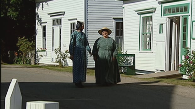 Sherbrooke Village is a recreation of a 19th century village.