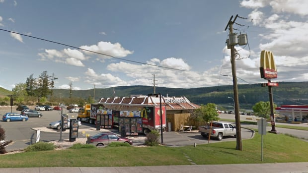 RCMP were called to the Broadway Avenue McDonald's in Williams Lake on Saturday after reports of a road rage incident in the parking lot.