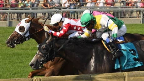 Channel Maker takes Breeders' Stakes to deny Contreras of 2nd Triple Crown thumbnail