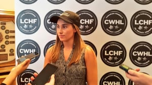Courtney Turner selected 1st overall in CWHL draft